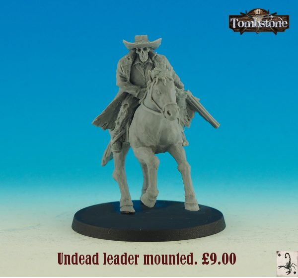 Tombstone: Old West tabletop game and miniatures in 32mm  by