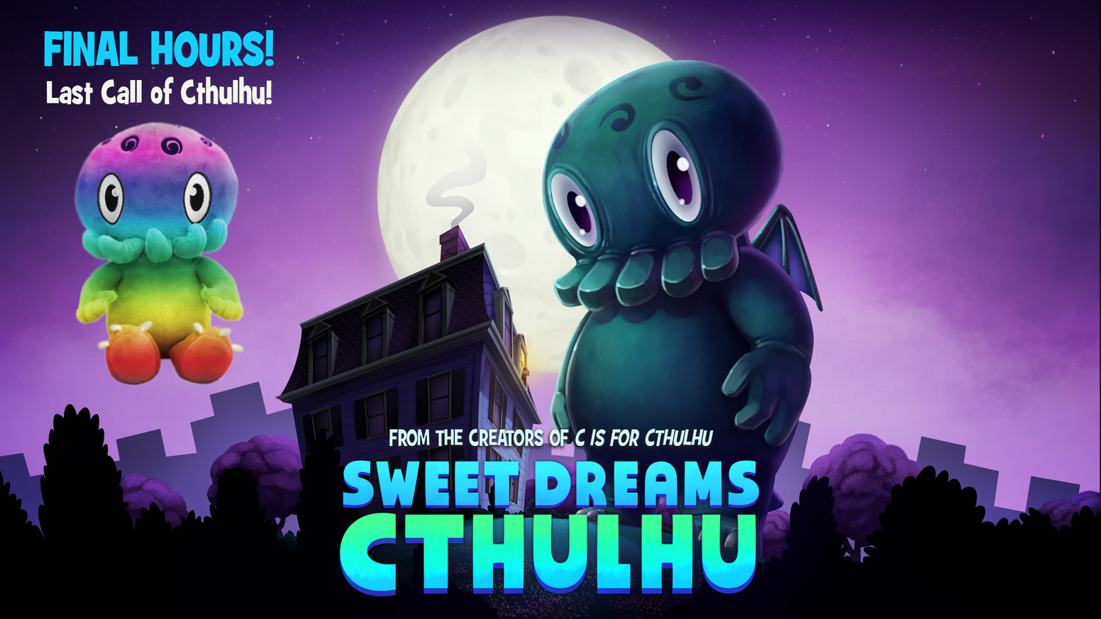 A new bedtime story from the creators of C IS FOR CTHULHU, sure to help Lovecraft fans & cultists of all ages drift into dreamland.