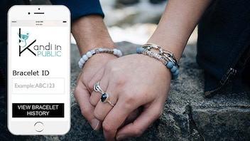 Pay-It-Forward Trackable Friendship Bracelets