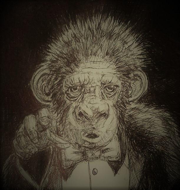"Adam Chow - The ships ""Monkey Boy"""