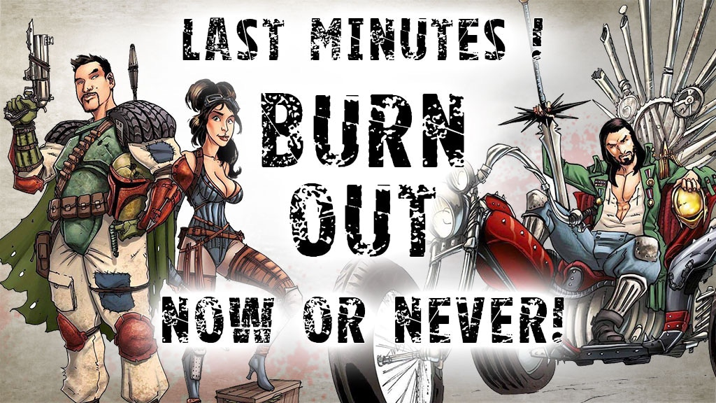 Burn Out - Fight, survive, evolve! project video thumbnail