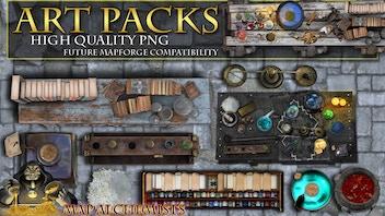 RPG Art packs in high png resolution