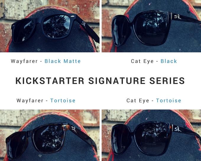 Kickstarter Signature Series - Shades Republic Sunglasses