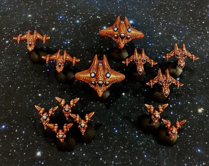 S'Sekai fighter swarm