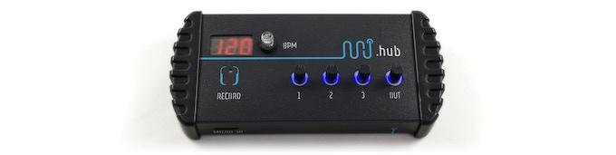 minijam .hub mixer and recorder