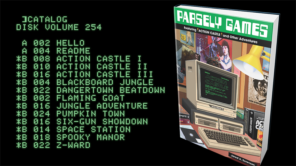 Parsely Games: ACTION CASTLE plus 11 more games project video thumbnail