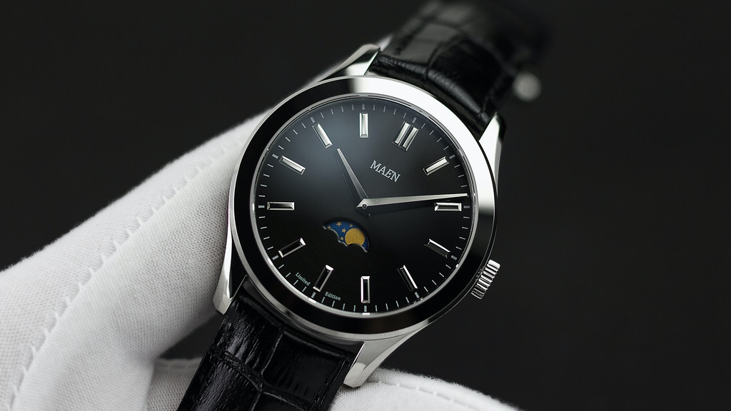 MAEN Watches: Limited Edition Moonphase Watches and More project video thumbnail