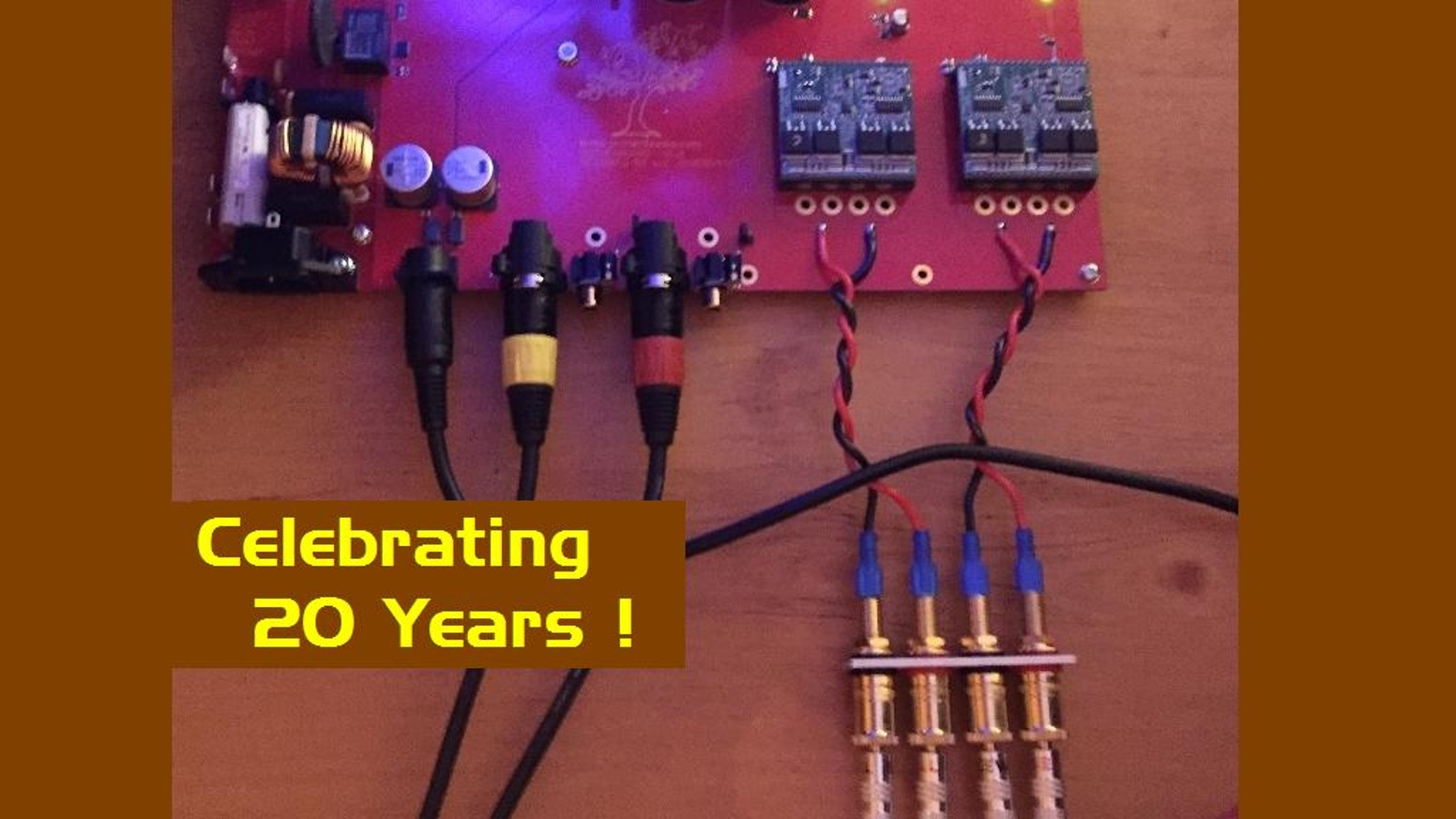Maraschino Video Series By Digital Amplifier Company Kickstarter 400w Audio Schema And Layout Amp Co Is Planning A About The Cherry Product Line