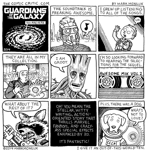 """My review of """"Guardians of the Galaxy"""""""