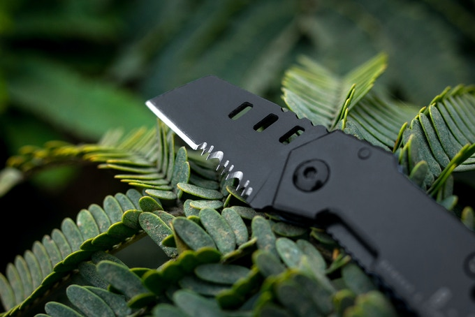 b 2 nano blade world 39 s smallest tactical pocket knife edc by bomber company kickstarter. Black Bedroom Furniture Sets. Home Design Ideas