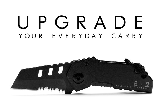 B-2 Nano Blade | World's Smallest Tactical Pocket Knife EDC by