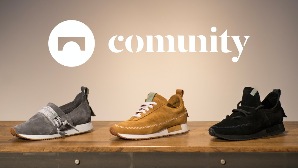 COMUNITYmade shoes project video thumbnail
