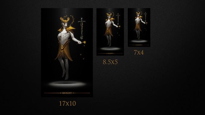 True Black Tarot Poster Set 2 By Arthur Wang Kickstarter