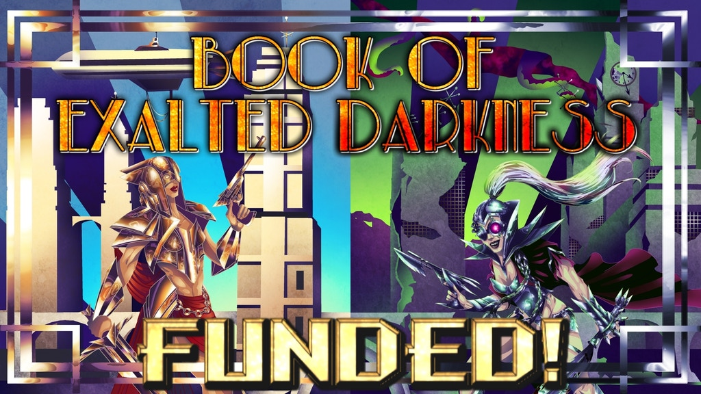 Book of Exalted Darkness: Adventurers Good and Evil for 5E project video thumbnail
