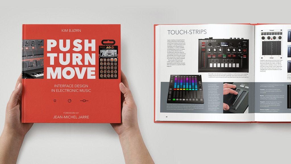 PUSH TURN MOVE - the book about electronic music instruments project video thumbnail