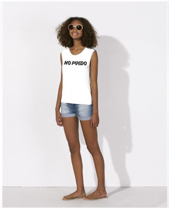 Recompensa: camiseta de chica (tank top)
