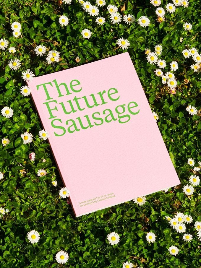 The Future Sausage book, photo by Younès Klouche