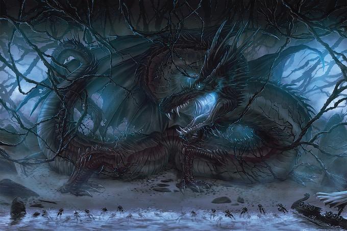 Nidhogg, The Corpse Devourer.