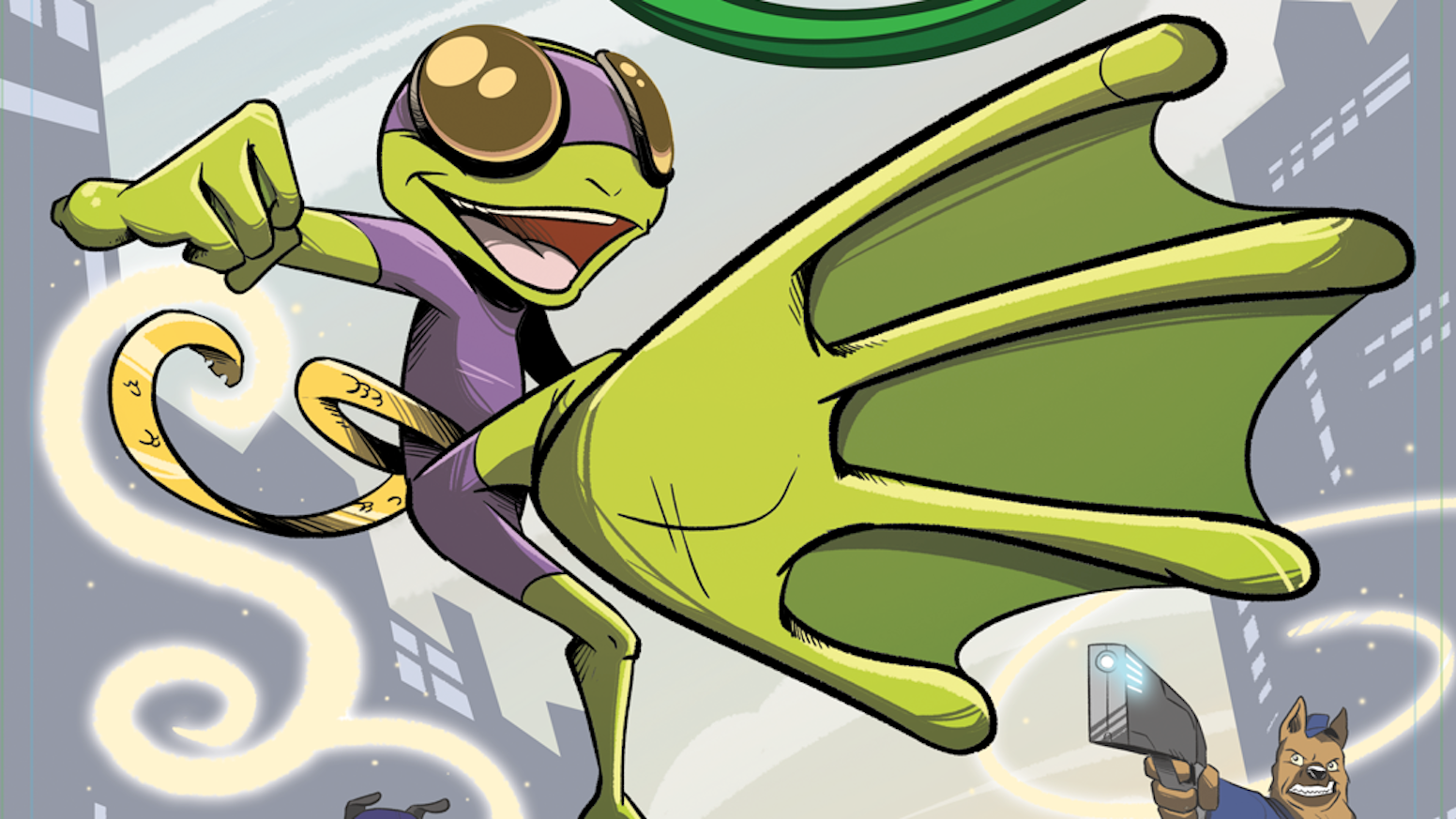 Healed by an ancient Dragon, young Cyd Pollywog channels primeval power to fight crime, battle monsters and become a HERO. Welcome to the world of DRAGON FROG.