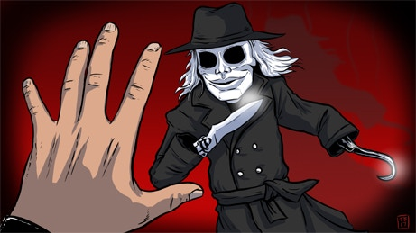 """Preview of screensaver """"Puppet Master"""" by Travis Bundy"""