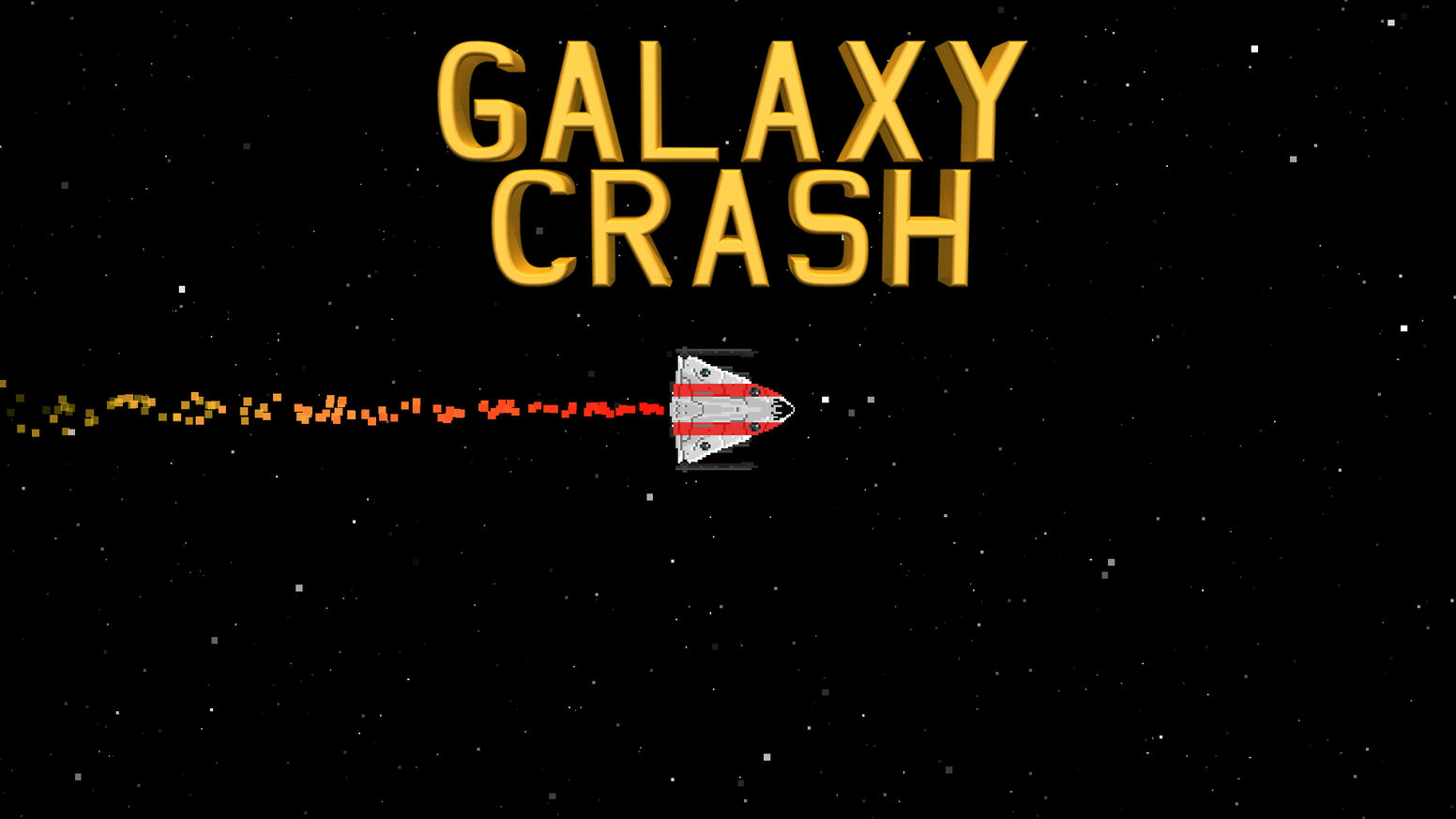 Galaxy Crash is a 2D Space Epic in which you must find a way to stop the impending destruction of the galaxy.