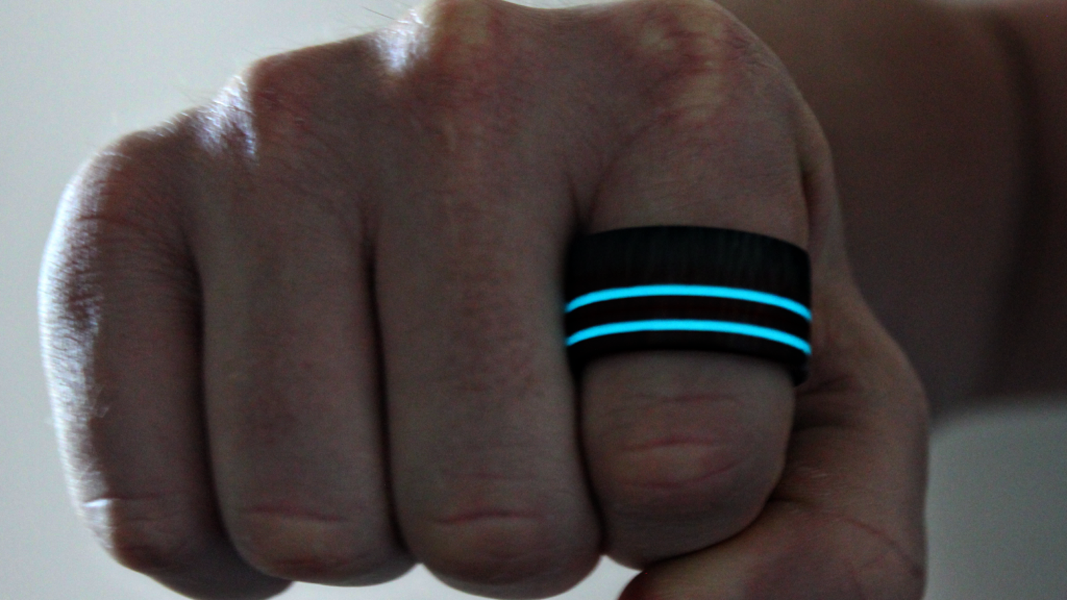 The Apex Ring, Named For It's Racing Stripe Appearance Is A Hand Crafted  Blackwood Carbon