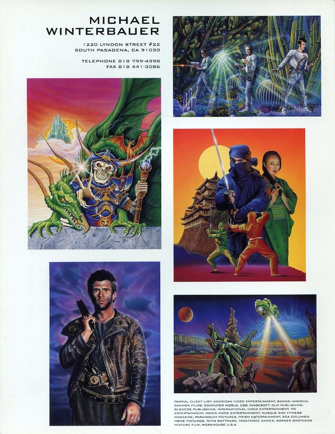 Creative Illustration ad 1993