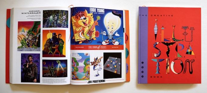 Creative Illustration book 1993 page 424