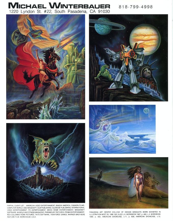 Creative Illustration ad 1992