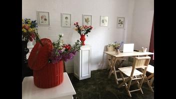 Flores y arte
