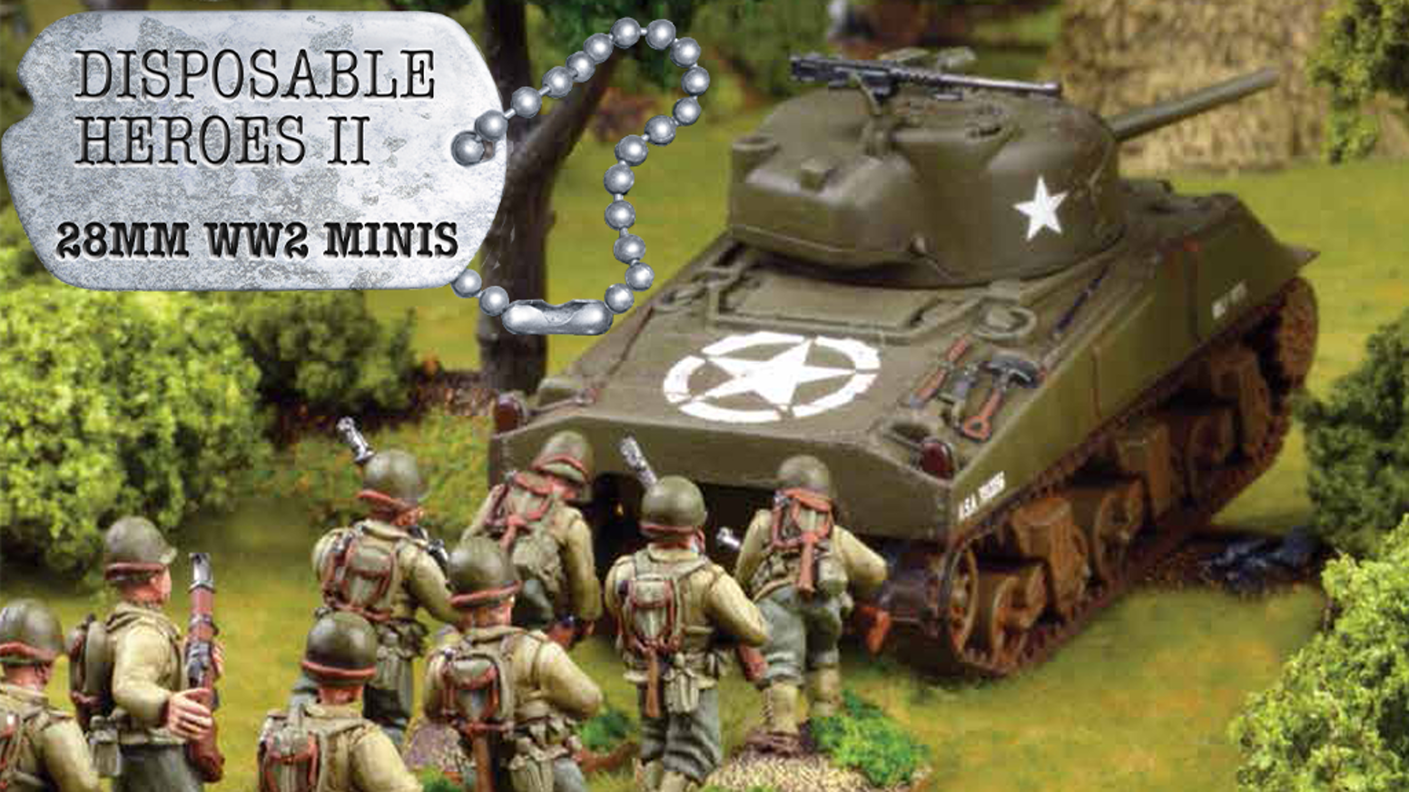 28mm World War 2 Wargaming Miniatures - Disposable Heroes by