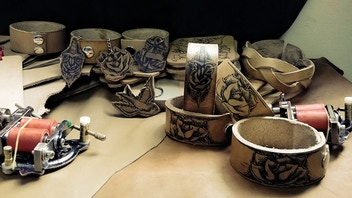 Tattooed Leather Flash Products