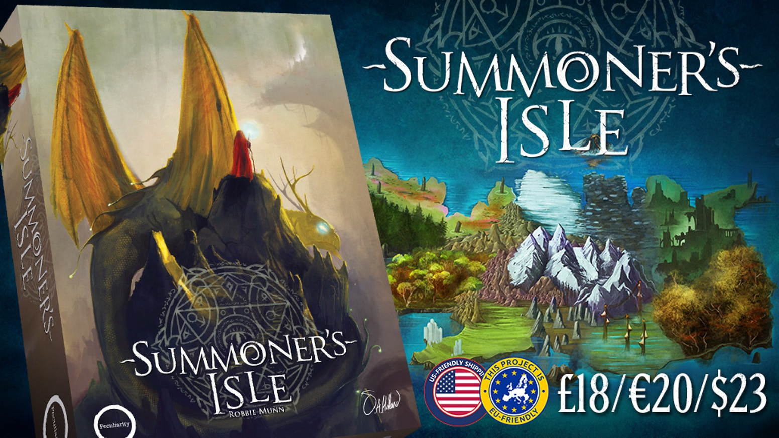 A contest of strategy, area control, resource management and cunning. Do you have what it takes to be a Summoner?