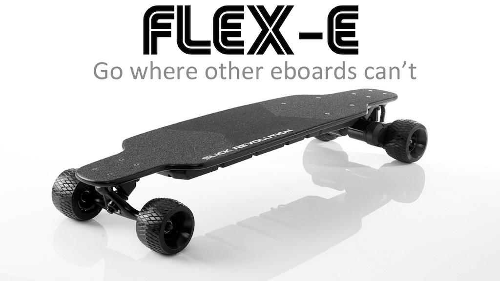 Flex Eboard Rough Stuff Electric Longboard By Slick