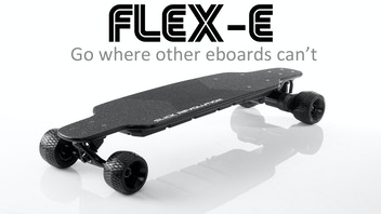 Flex-Eboard Rough Stuff Electric Longboard