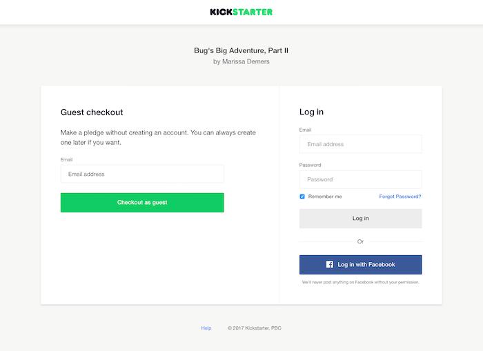 Introducing Guest Pledging — Kickstarter