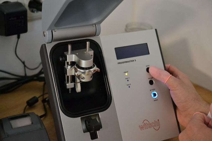 Testing water resistance