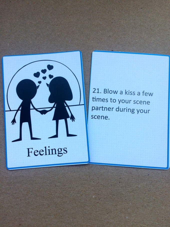Feelings - Act out different emotions and feelings.