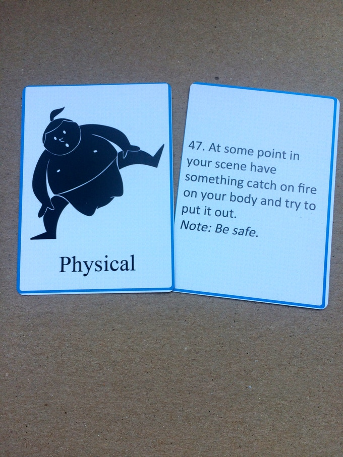 Physical Card - explore your physicality.