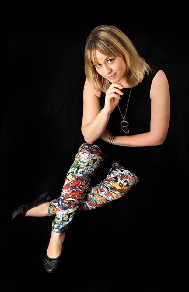 Solution Squad Tessellation Leggings, worn by Serena Guerra