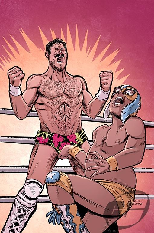 "Tony Gregori (Artist on the ""Lucha Underground: Mil Muertes"" Comic) Colorist Doug Garbark (""Lucha Underground Comics: Rey Mysterio & Dario Cueto"" and Boom! Studios ""WWE Comics"")!"