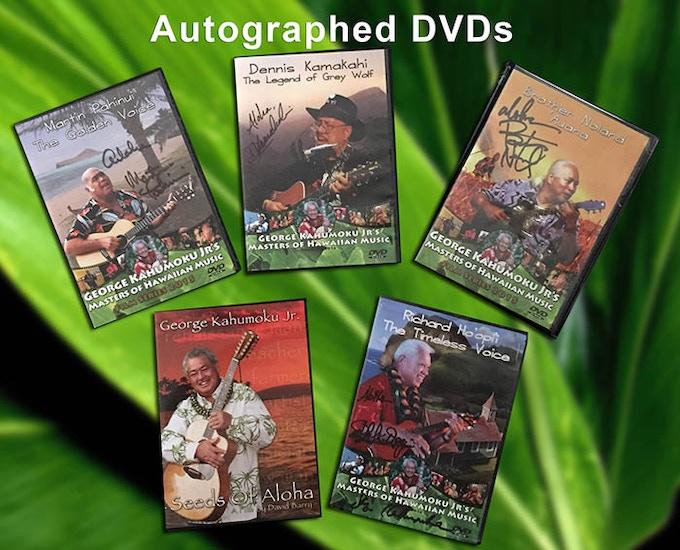 Autographed DVDs
