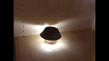 Concrete Crystal Light
