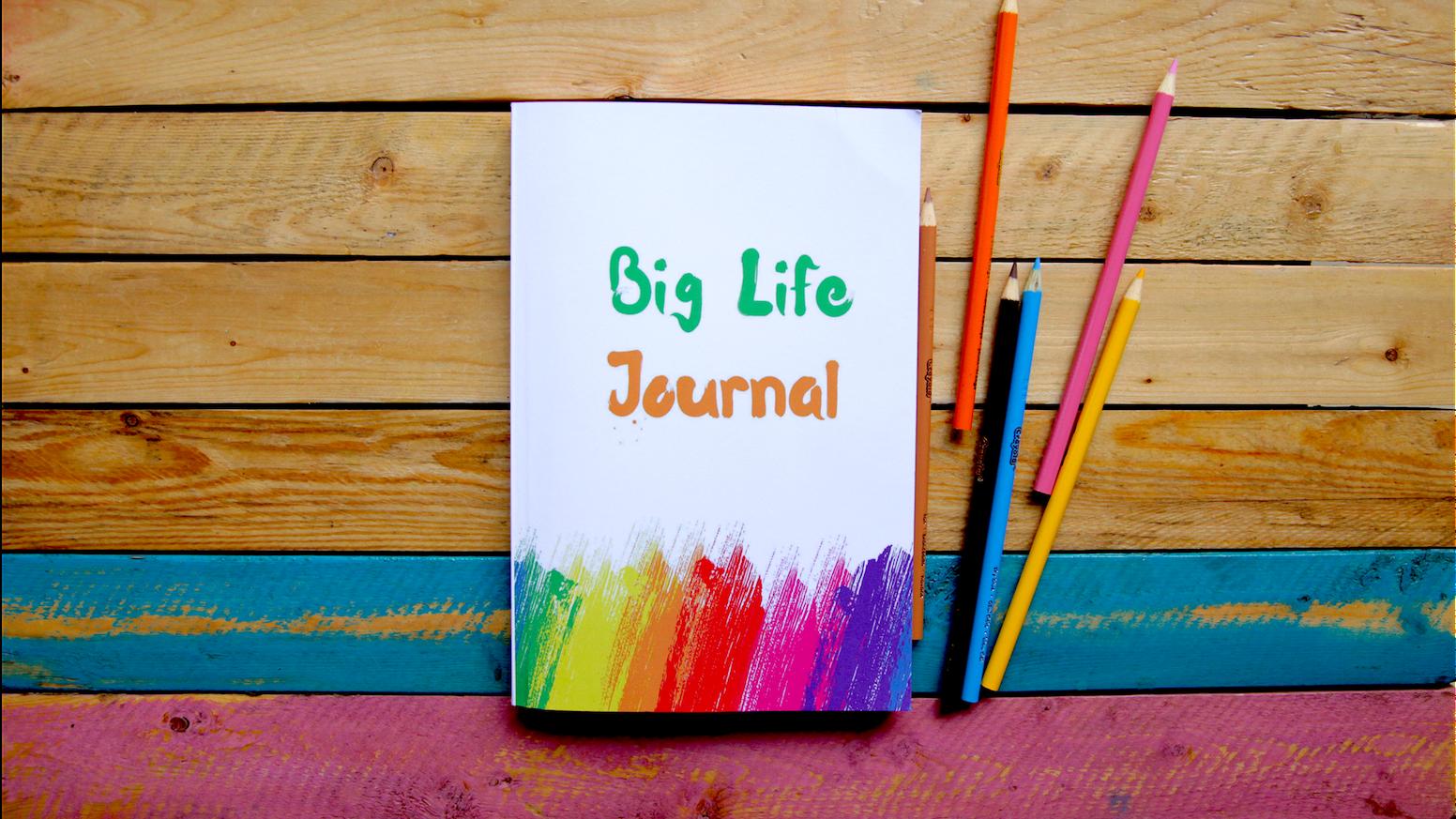 Big Life Journal: A Groundbreaking New Journal for Kids by Scott & Alexandra — Kickstarter