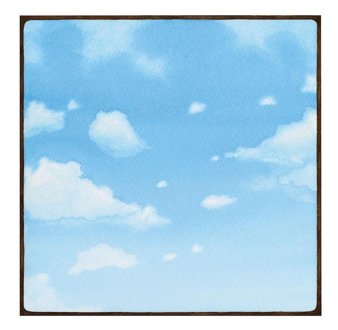 """""""Summer Sky"""" illustration"""
