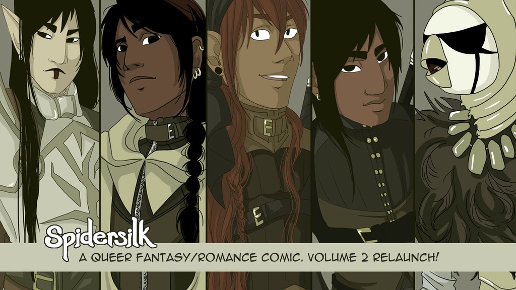 Spidersilk Volume 2: Relaunch project video thumbnail