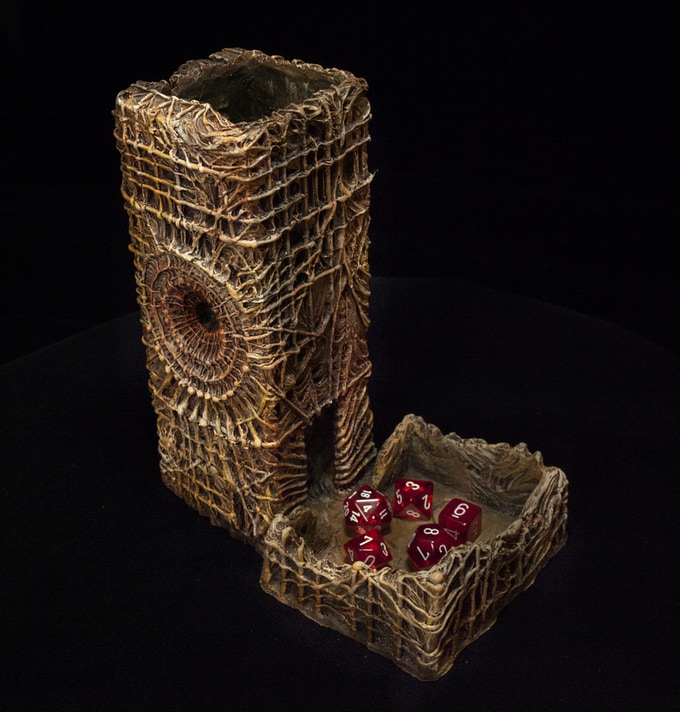Surreal Dice Tower