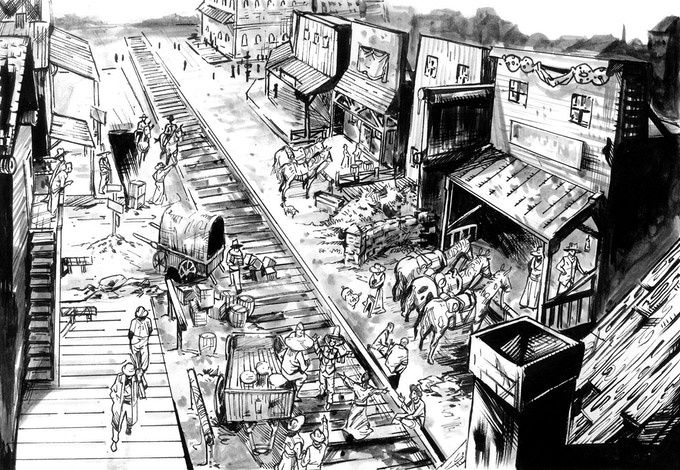 Panel from Issue #3