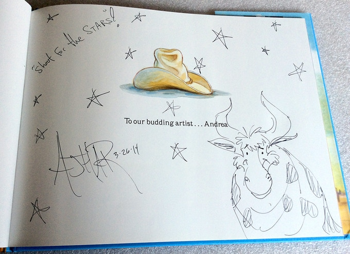 Brian Ajhar Signed and Sketched (Sample)