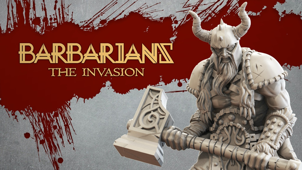Barbarians: The Invasion project video thumbnail